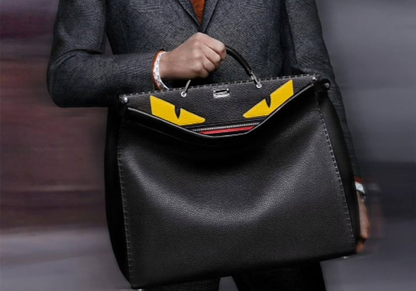 Aishti BlogFENDI'S PEEKABOO BAG FOR MEN