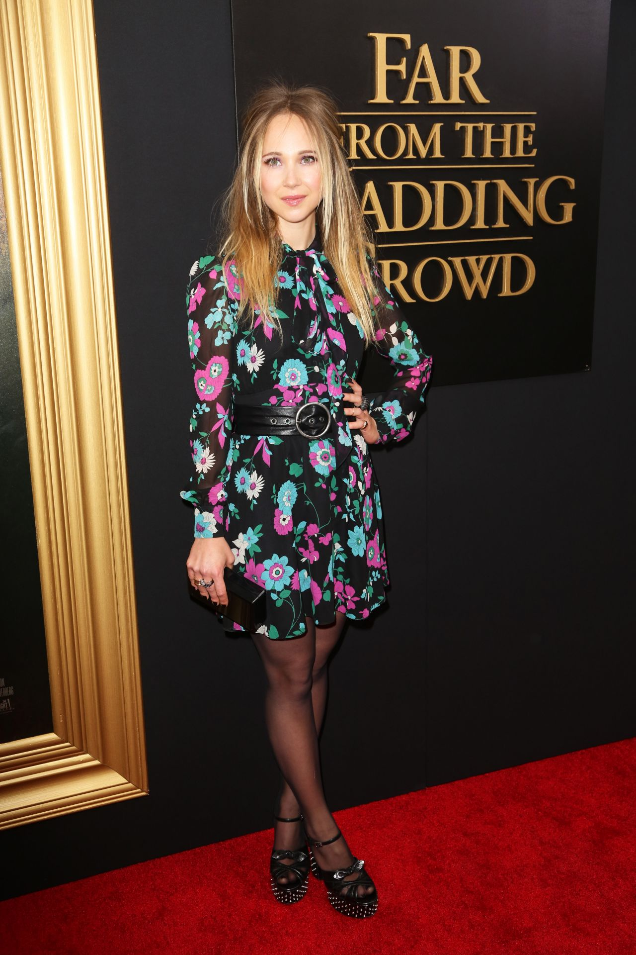 Juno Temple in Saint Laurent